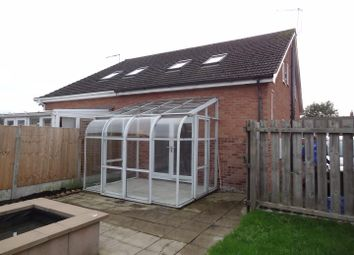 Thumbnail 1 bed end terrace house to rent in Somerset Way, Wem, Shrewsbury