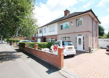 Thumbnail 3 bed semi-detached house to rent in Kingshill Avenue, Hayes