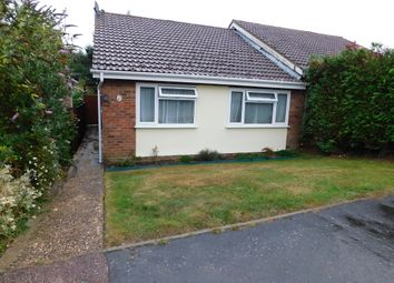 Thumbnail 2 bedroom semi-detached bungalow for sale in Tippett Avenue, Stowmarket