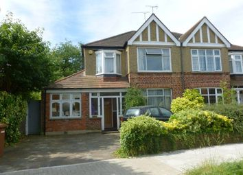 Thumbnail 4 bed semi-detached house to rent in Barrow Point Avenue, Pinner