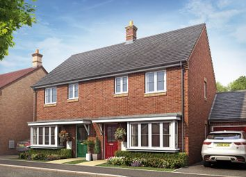 Thumbnail 3 bedroom semi-detached house for sale in Rockingham Gate, Priors Hall Park, Corby