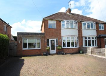 Thumbnail 3 bed semi-detached house for sale in Millstone Lane, Syston, Leicester