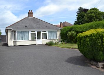 Thumbnail 2 bed detached bungalow for sale in Ashby Road, Woodville, Swadlincote