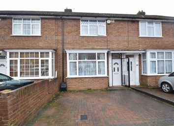 Thumbnail 2 bedroom terraced house for sale in Peartree Road, Luton