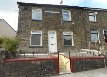 Thumbnail 3 bedroom end terrace house to rent in Brynheulog Terrace, Tylorstown