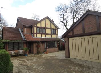 Thumbnail 3 bed detached house for sale in The Beeches, Porthill, Newcastle