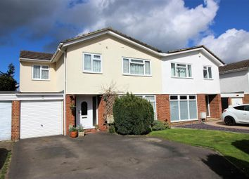 Thumbnail 4 bed semi-detached house for sale in Silverthorne Drive, Caversham, Reading