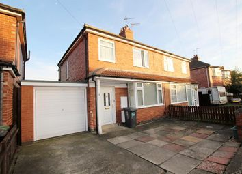 Thumbnail 3 bed semi-detached house for sale in Campbell Avenue, York