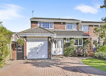 Thumbnail 3 bed semi-detached house for sale in Mitford Close, Washington