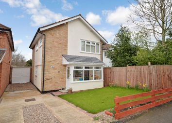 Thumbnail 3 bed link-detached house for sale in Greenbank Drive, Oadby, Leicester
