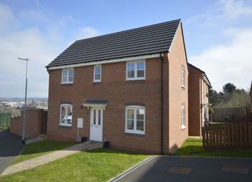 Thumbnail 3 bedroom detached house for sale in Lamphouse Way, Wolstanton, Newcastle