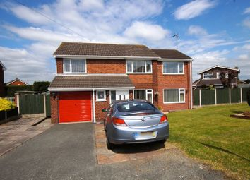 Thumbnail 5 bedroom detached house for sale in Smithy Lane, Little Acton, Wrexham