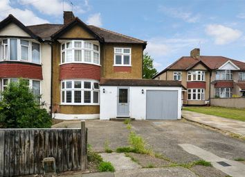 Thumbnail 3 bed semi-detached house for sale in St Andrews Avenue, Wembley, Middlesex