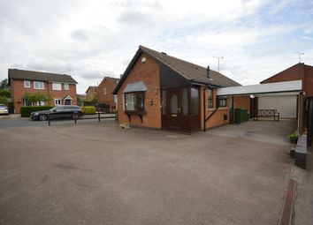 Thumbnail 2 bed detached bungalow for sale in Woodhouse Road, Narborough, Leicester