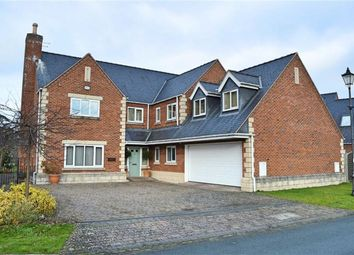 Thumbnail 5 bed detached house for sale in Montague House, Refail Park, Berriew, Welshpool, Powys