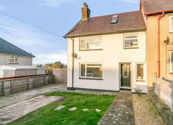 Thumbnail 4 bed end terrace house for sale in Bryn Mair, Llanfairfechan, Conwy, North Wales
