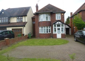 Thumbnail 3 bed detached house to rent in Sutton Road, Walsall