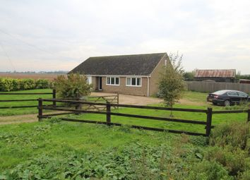 Thumbnail 4 bed detached bungalow to rent in Kenny Hill, Bury St. Edmunds