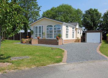 Thumbnail 2 bed mobile/park home for sale in Valley Field Park, London Road, Nr Stockbridge