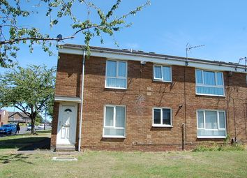 Thumbnail 1 bed flat for sale in Broxburn Close, Wallsend