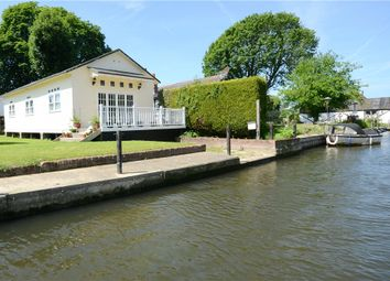 Thumbnail Detached bungalow for sale in Rod Eyot, Wargrave Road, Henley On Thames