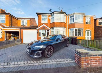 Thumbnail 3 bed semi-detached house for sale in Lonsdale Avenue, Davyhulme, Trafford