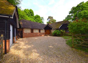 Thumbnail 4 bed detached bungalow for sale in Liphook Road, Headley, Bordon