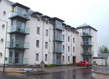 Thumbnail 2 bed flat to rent in Dalhousie Court, Carnoustie, 7Jd
