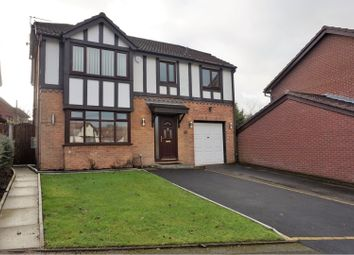 Thumbnail 5 bed detached house for sale in Gildersdale Drive, Manchester