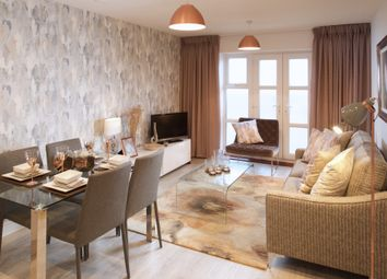 Thumbnail 1 bed flat for sale in Plot 7, Bowman House, Queensgate, Farnborough, Hampshire
