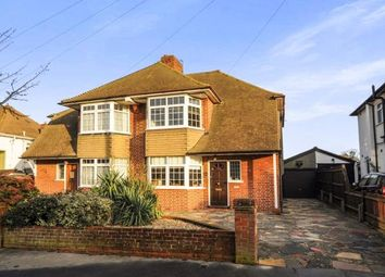 Thumbnail 4 bed semi-detached house for sale in Annesley Drive, Shirley, Croydon