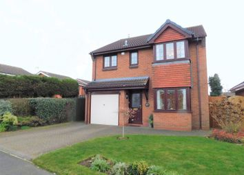 Thumbnail 4 bed detached house for sale in Eggington Drive, Penkridge, Stafford