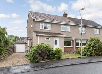 Thumbnail 3 bed semi-detached house for sale in Crawford Avenue, Lenzie, Glasgow