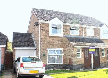 Thumbnail 3 bed semi-detached house for sale in Enterprise Close, Warsash, Southampton