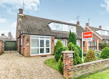 Thumbnail 2 bed semi-detached house for sale in Wellingham Avenue, Hitchin