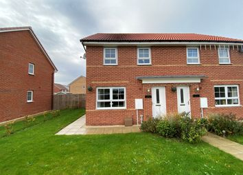 Thumbnail 3 bed semi-detached house for sale in Shire Green, Carlton, Goole