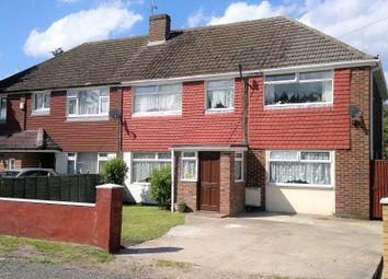Thumbnail 5 bed semi-detached house for sale in South Road, Ash Vale, Aldershot