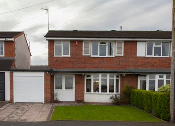 Thumbnail 3 bed semi-detached house for sale in Chessington Crescent, Trentham, Stoke-On-Trent