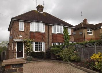 Thumbnail 3 bed semi-detached house for sale in Dunnings Road, East Grinstead, West Sussex