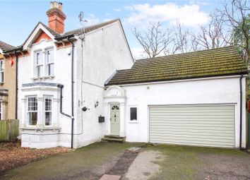 Thumbnail 4 bed detached house for sale in Crookham Road, Fleet, Hampshire