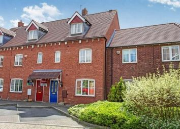 Thumbnail 4 bed town house for sale in Applebees Meadow, Hinckley, Leicestershire