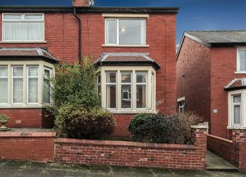 Thumbnail 2 bed semi-detached house for sale in Coveway Avenue, Blackpool