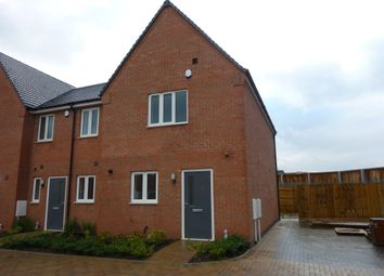 Thumbnail 3 bed town house for sale in Co-Op Close, Barwell, Leicester