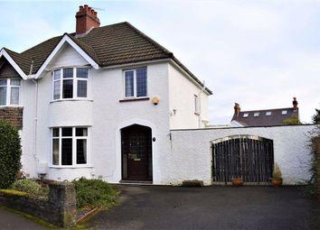 3 bed semi-detached house for sale in Llanfair Gardens, Norton, Swansea SA3