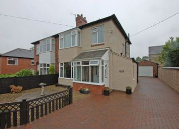Thumbnail 3 bed semi-detached house for sale in Grange Avenue, Stamfordham, Newcastle Upon Tyne