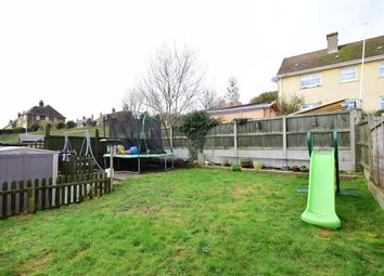 Thumbnail 3 bed semi-detached house for sale in Chaucer Crescent, Dover, Kent