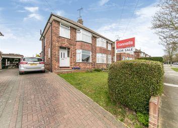 Thumbnail 3 bed semi-detached house for sale in Shrubland Avenue, Ipswich