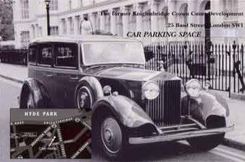 Thumbnail Parking/garage to rent in Basil Street, Knightsbridge, London