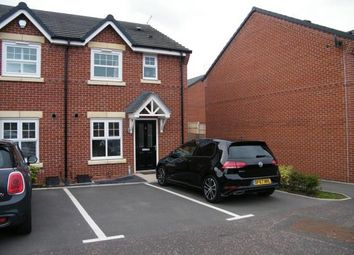 Thumbnail 3 bed semi-detached house for sale in Apple Drive, Shavington, Crewe, Cheshire