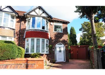 Thumbnail 4 bed semi-detached house for sale in Greenbank Avenue, Gatley, Cheadle